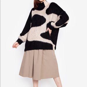 Topshop Swirl Pattern Super Soft Sweaters - Multi